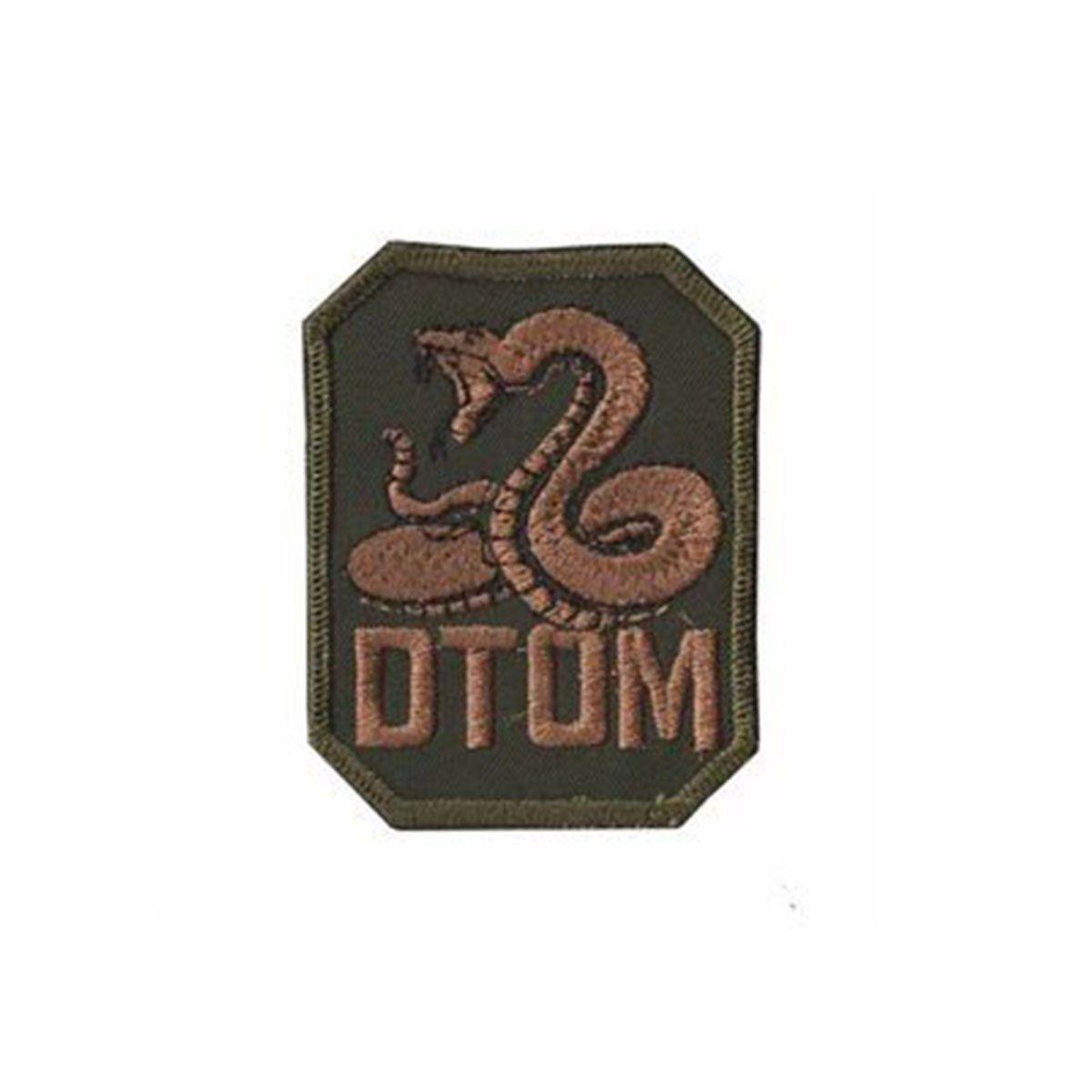 Bordado Termocolante DTOM Cobra
