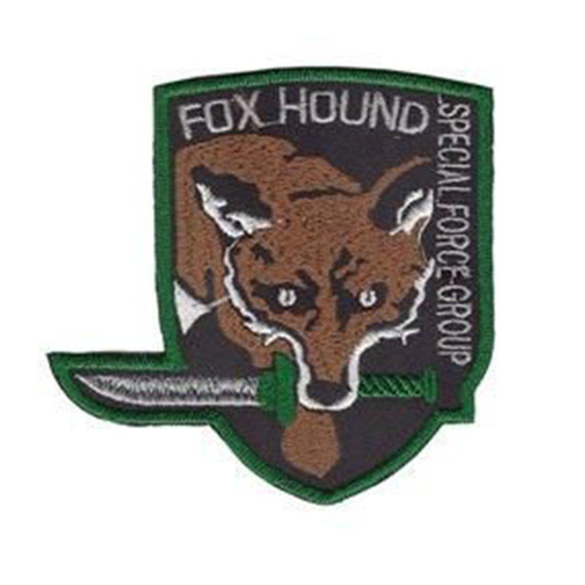 Bordado Termocolante Fox Hound Special Force Group