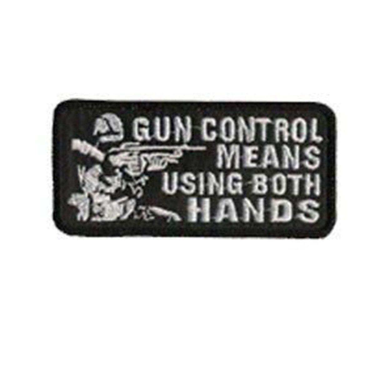 Bordado Termocolante Gun Control Means