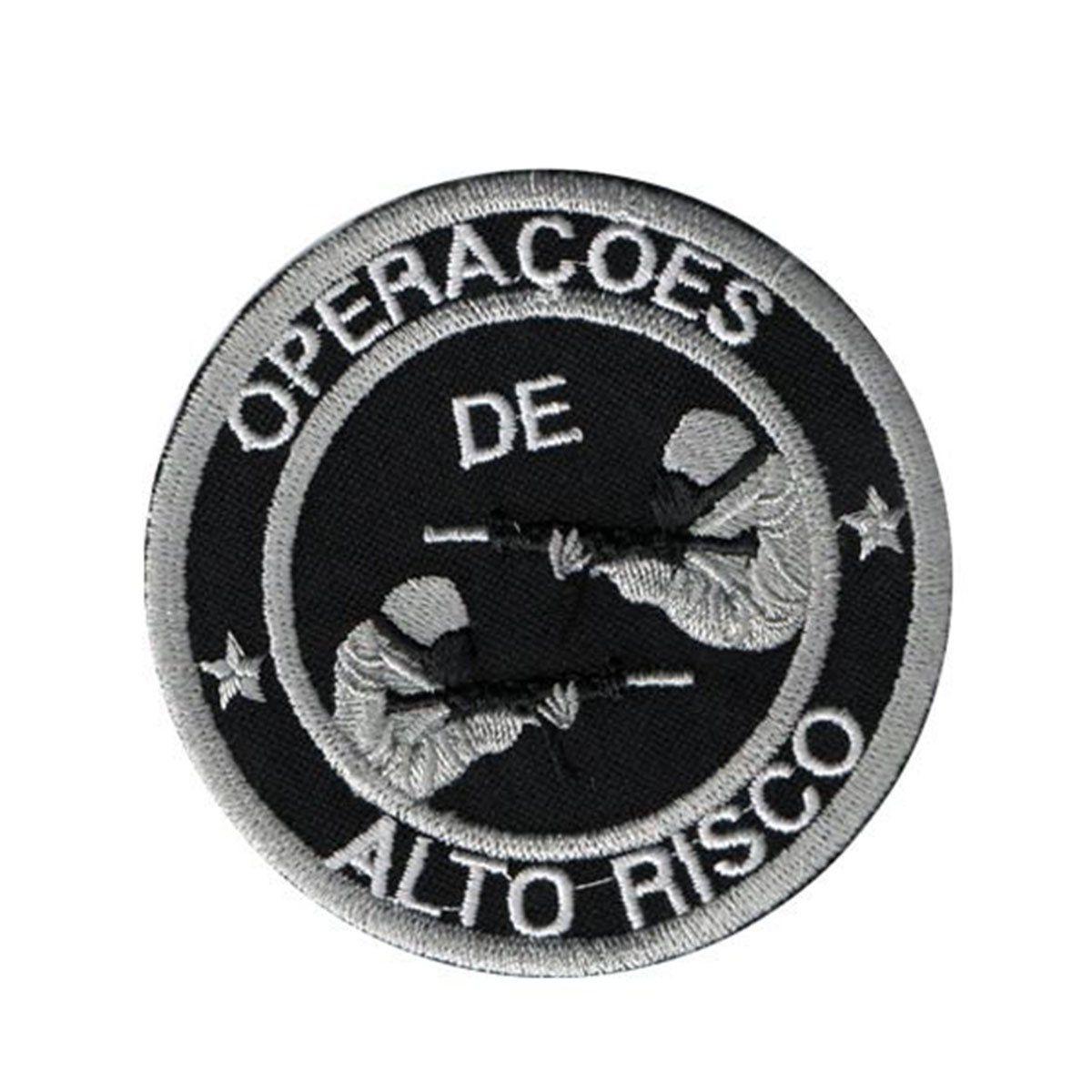 Bordado Termocolante Operacoes de Alto Risco