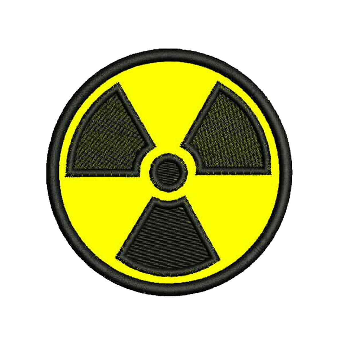 Bordado Termocolante Radioatividade