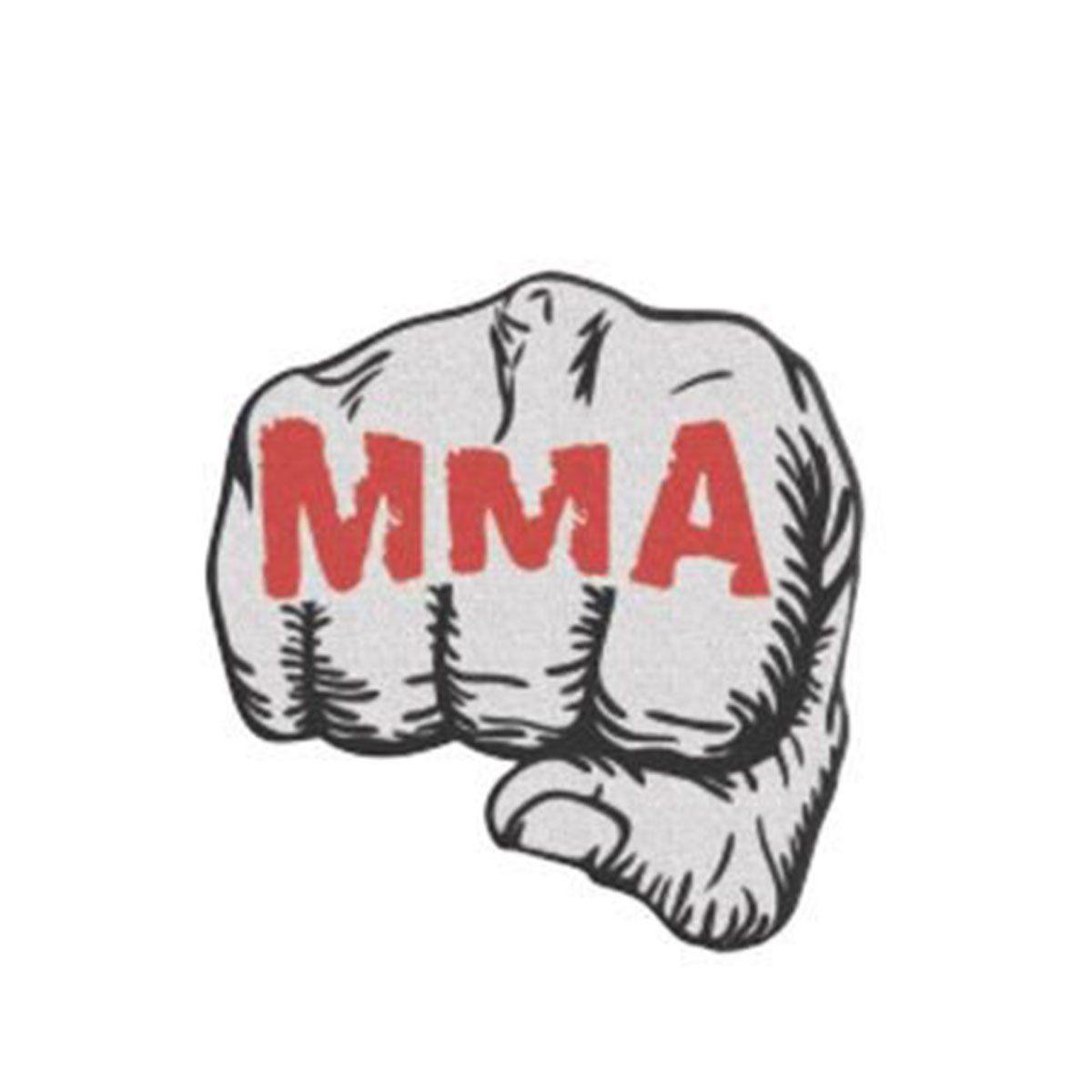 Bordado Termocolante Soco MMA