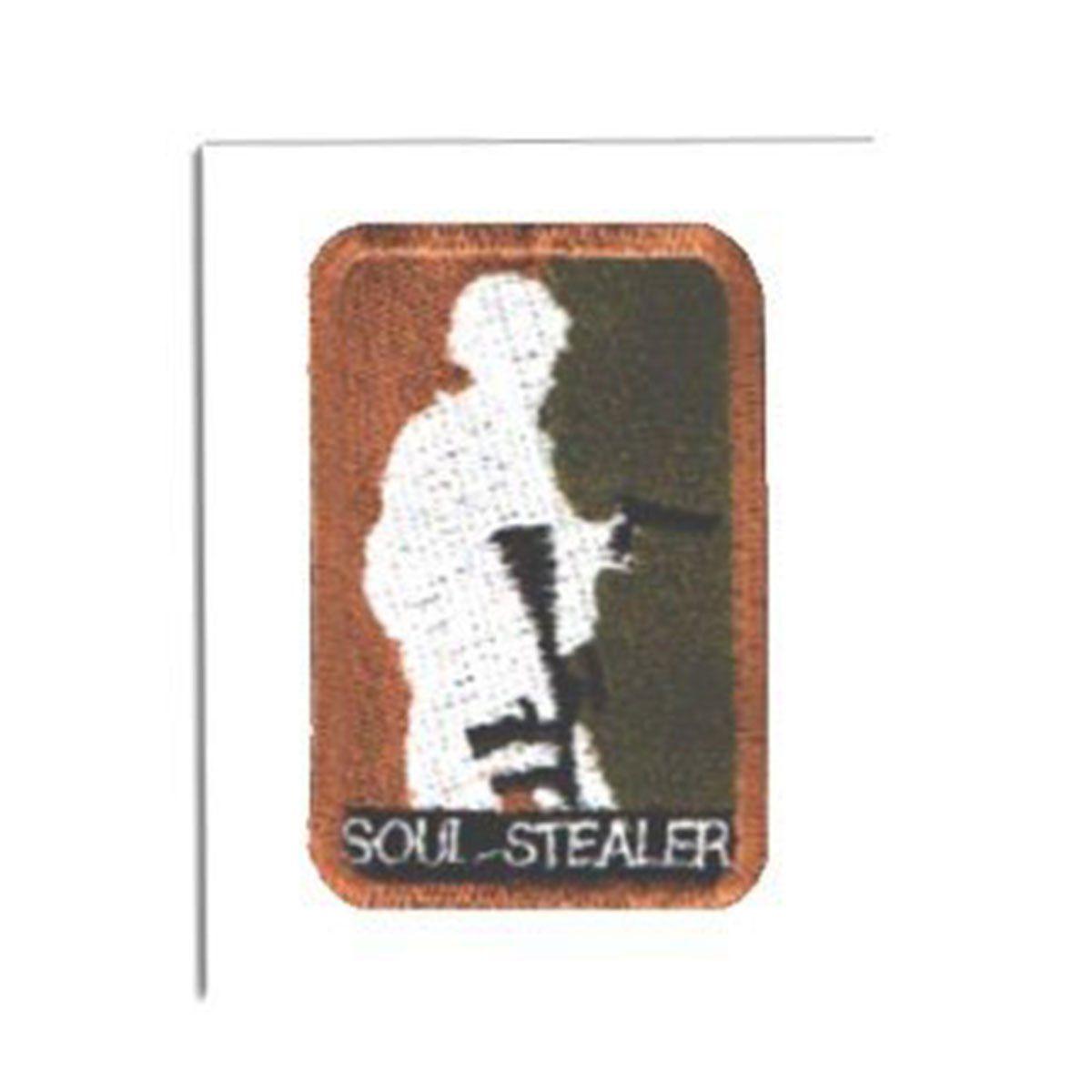 Bordado Termocolante Soul Stealer
