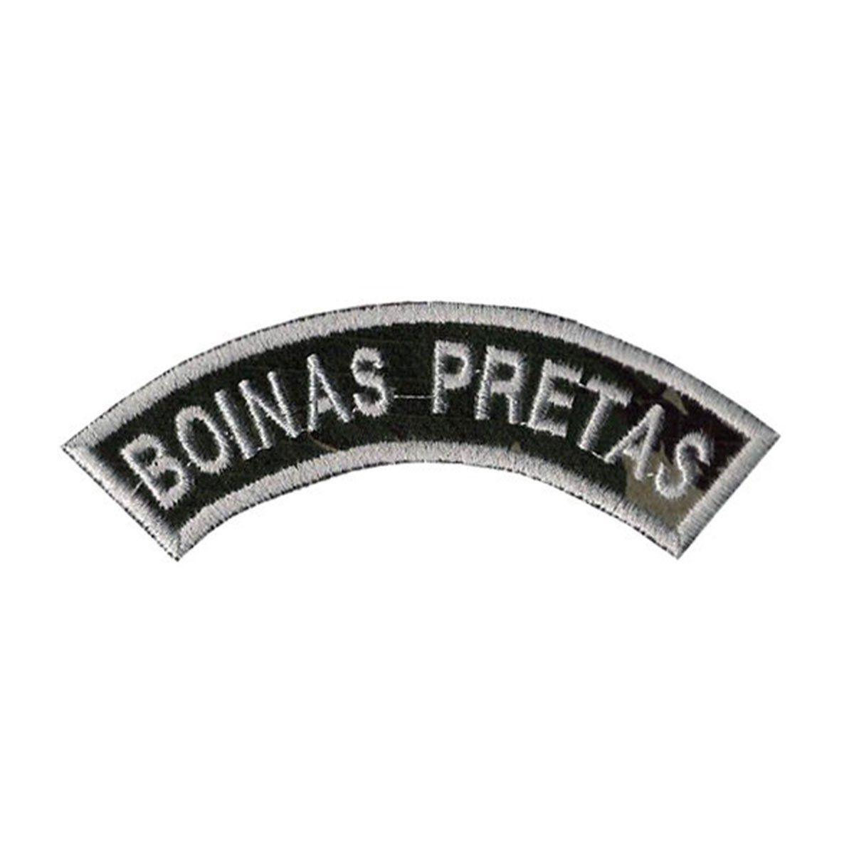 Bordado Termocolante Tarjeta Boinas Pretas