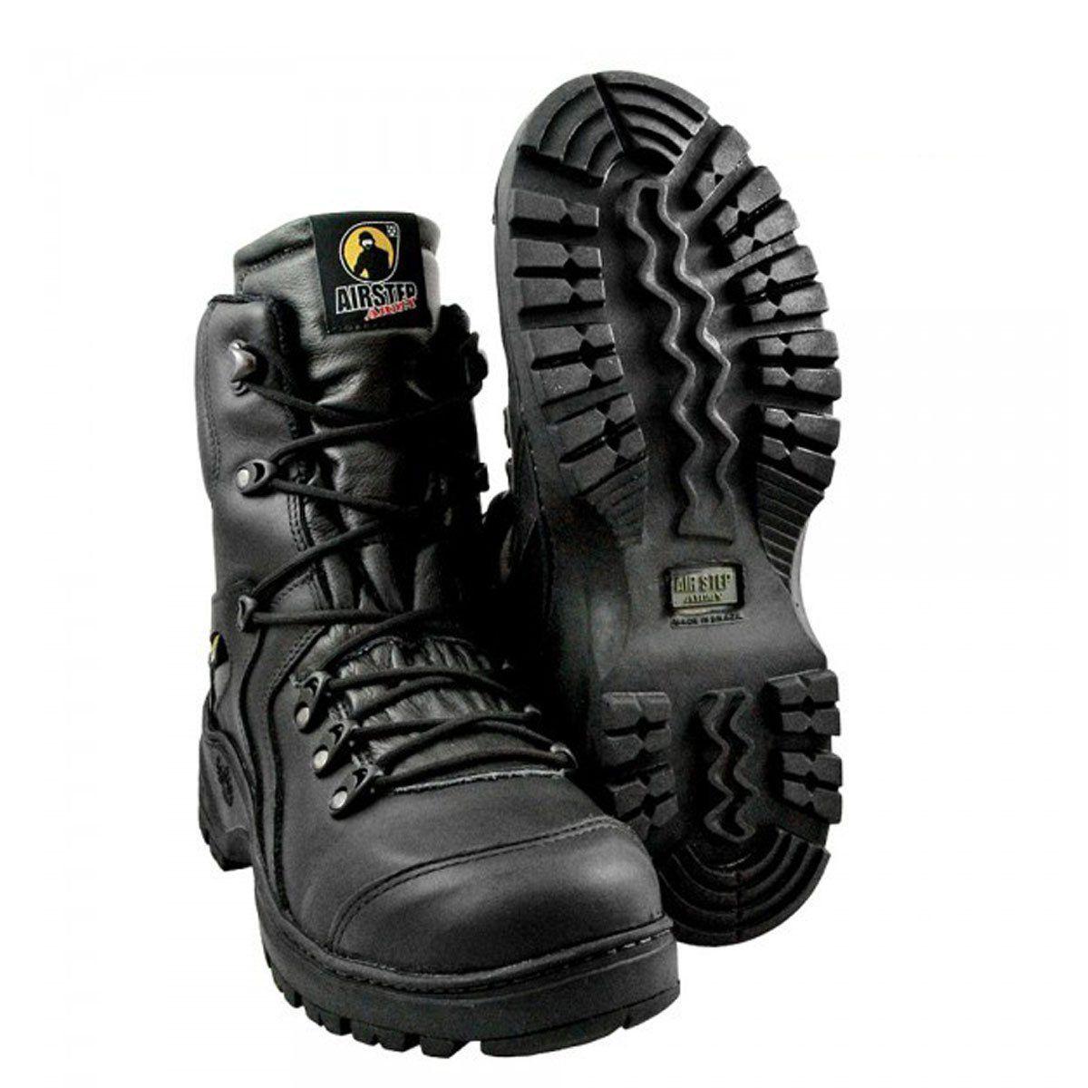 Bota Airstep 8950-1 Militar Polícia Civil Black