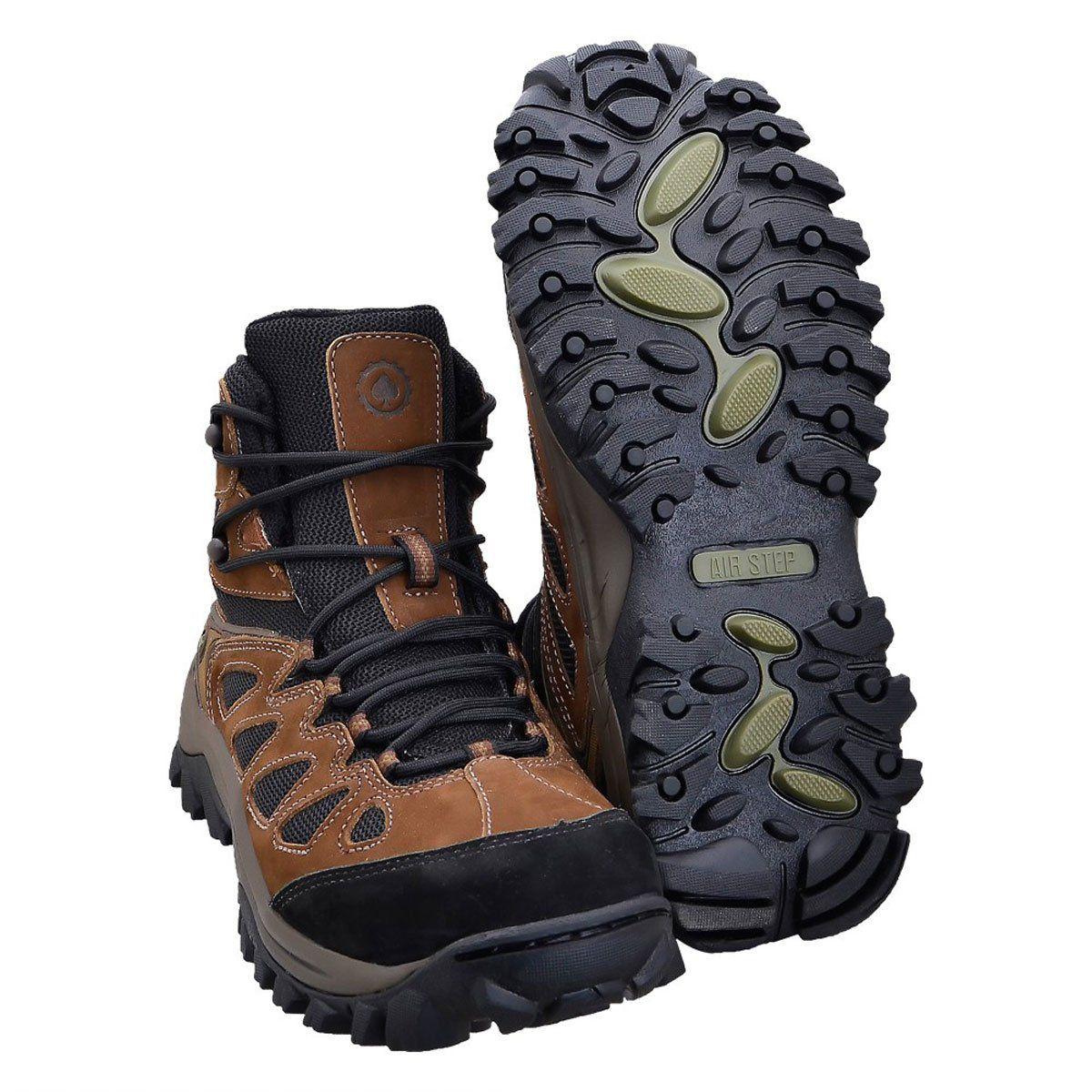 Bota Airstep Hiking Boot Brown Black