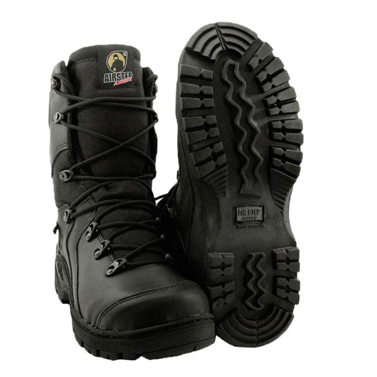 Bota / Coturno Militar Tático Airstep ref: 8990-1 Black Squad
