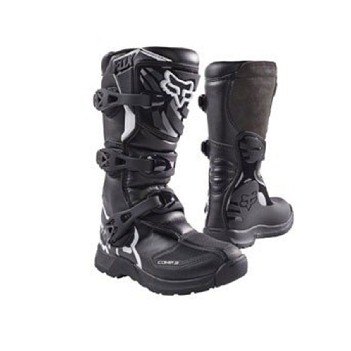 Bota de Motocross Fox Comp P3 Youth 17 Preto
