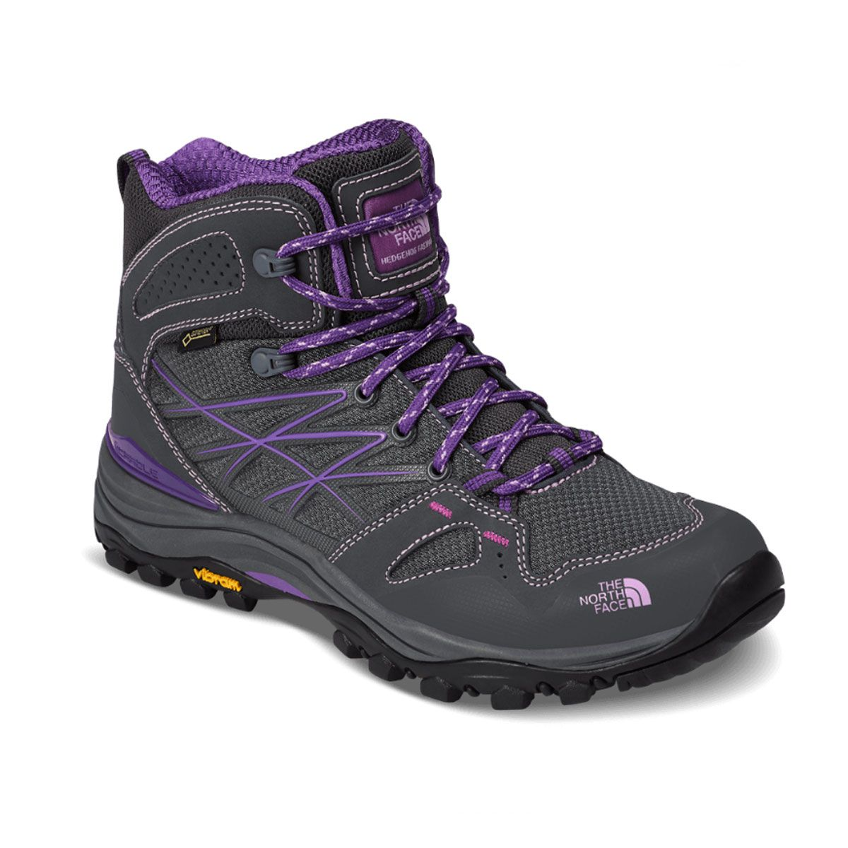 Bota Feminina Adulto Hedgehog FastPack Mid GTX TCR The North Face Cinza