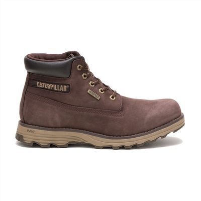 Bota Masculina Caterpillar Founder WP Coffee Bean