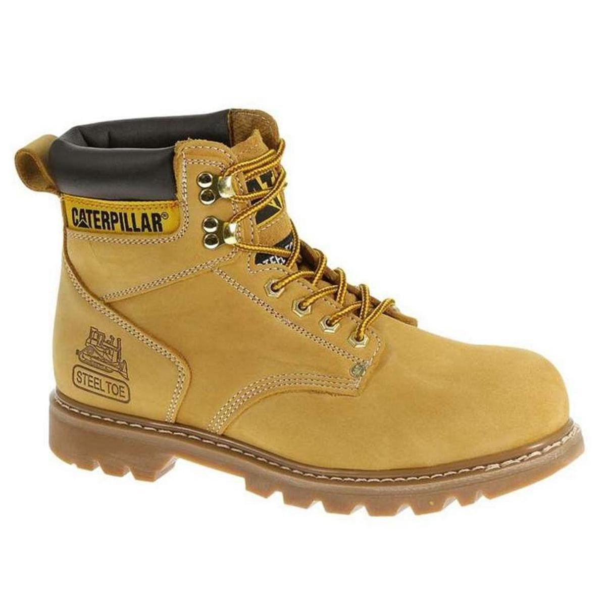 Bota Masculina Caterpillar Second Shift - Honey
