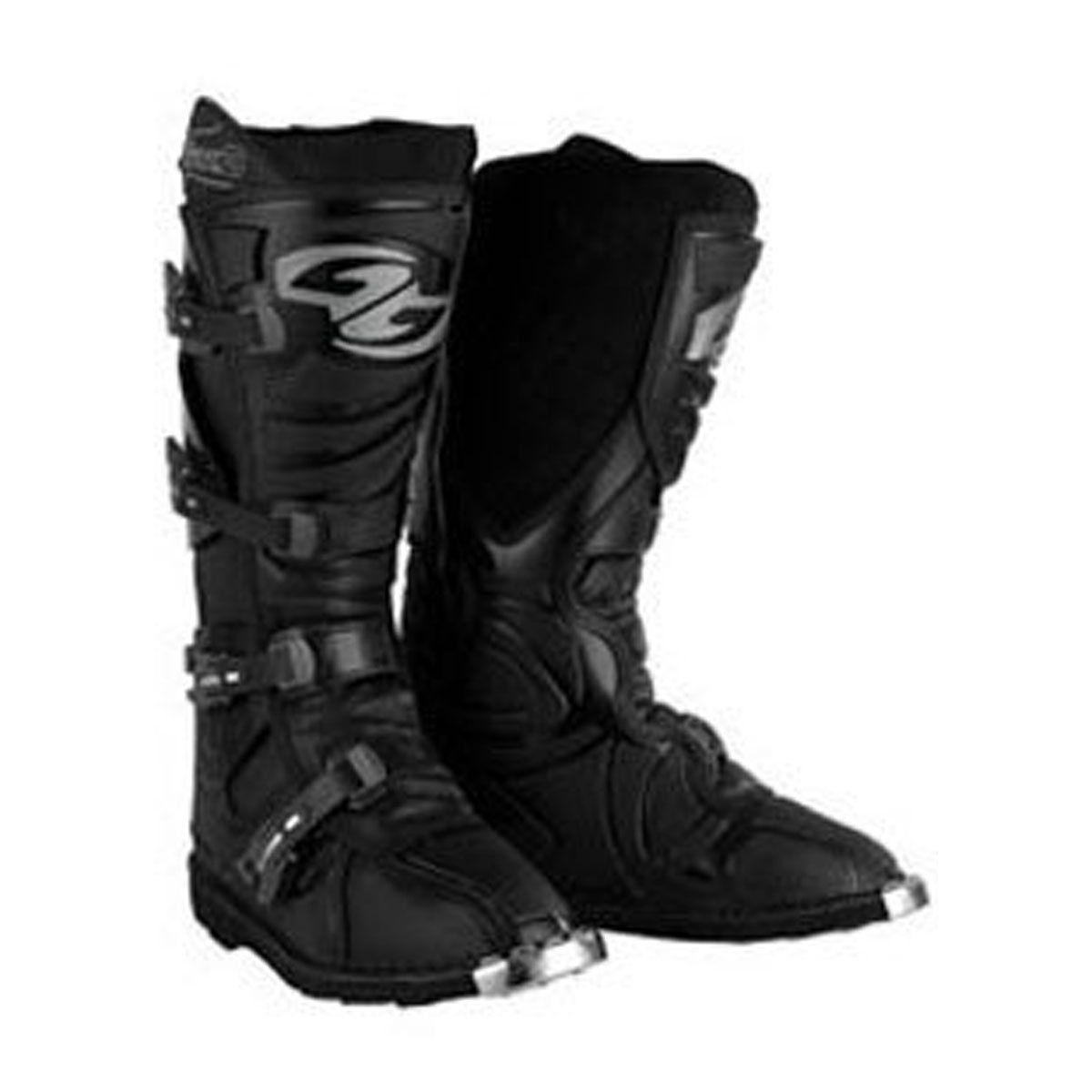 Bota para Motocross Protork Combat 3 Preta