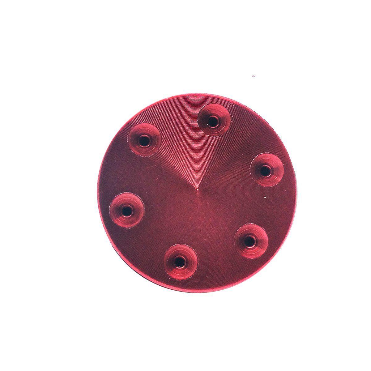 Cabeça de Pistão 6 Furos Metal Taitus