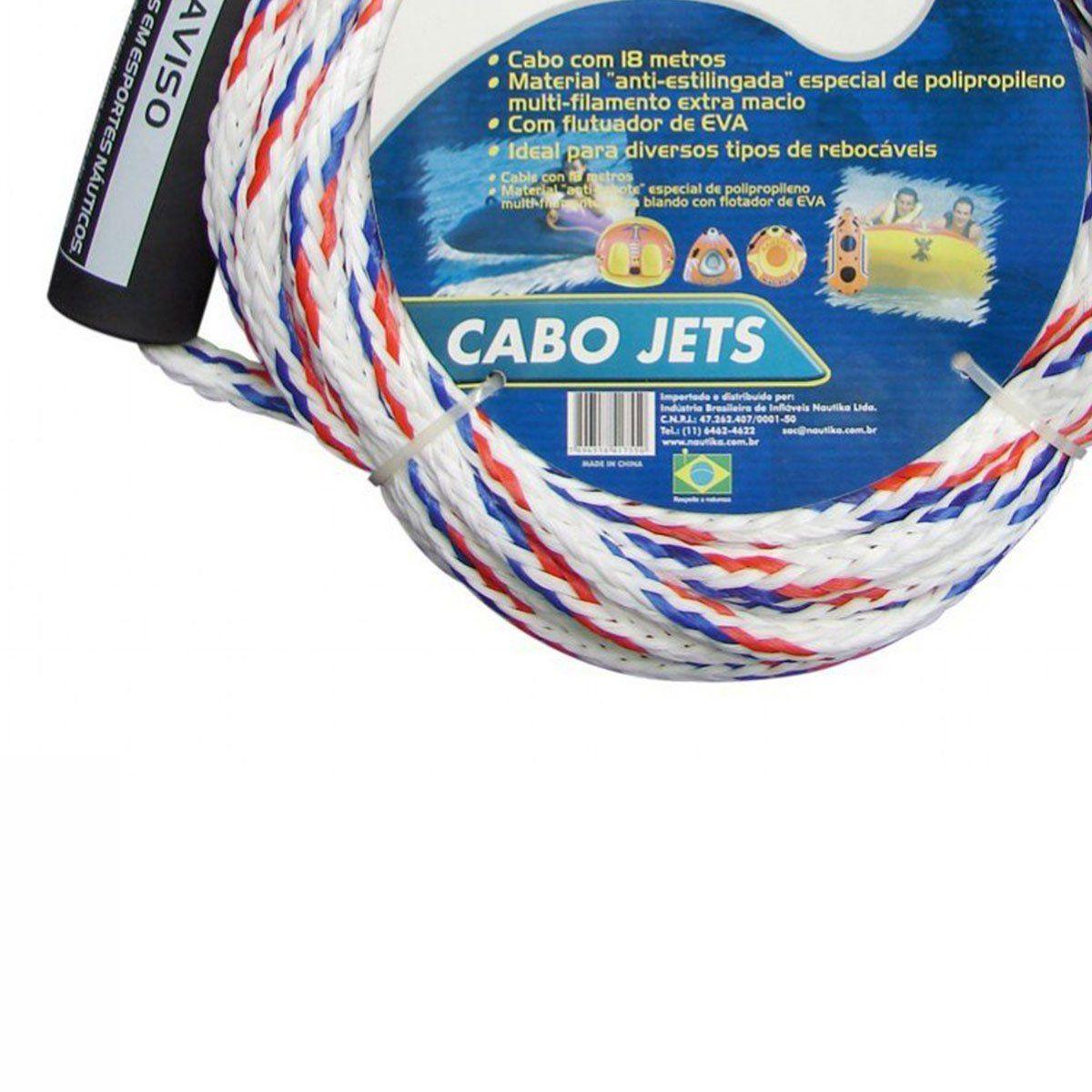 Cabo Jet Nautika Para Boia Rebocável
