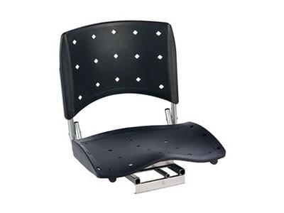 Cadeira Anatomica para Barco 360 Preta