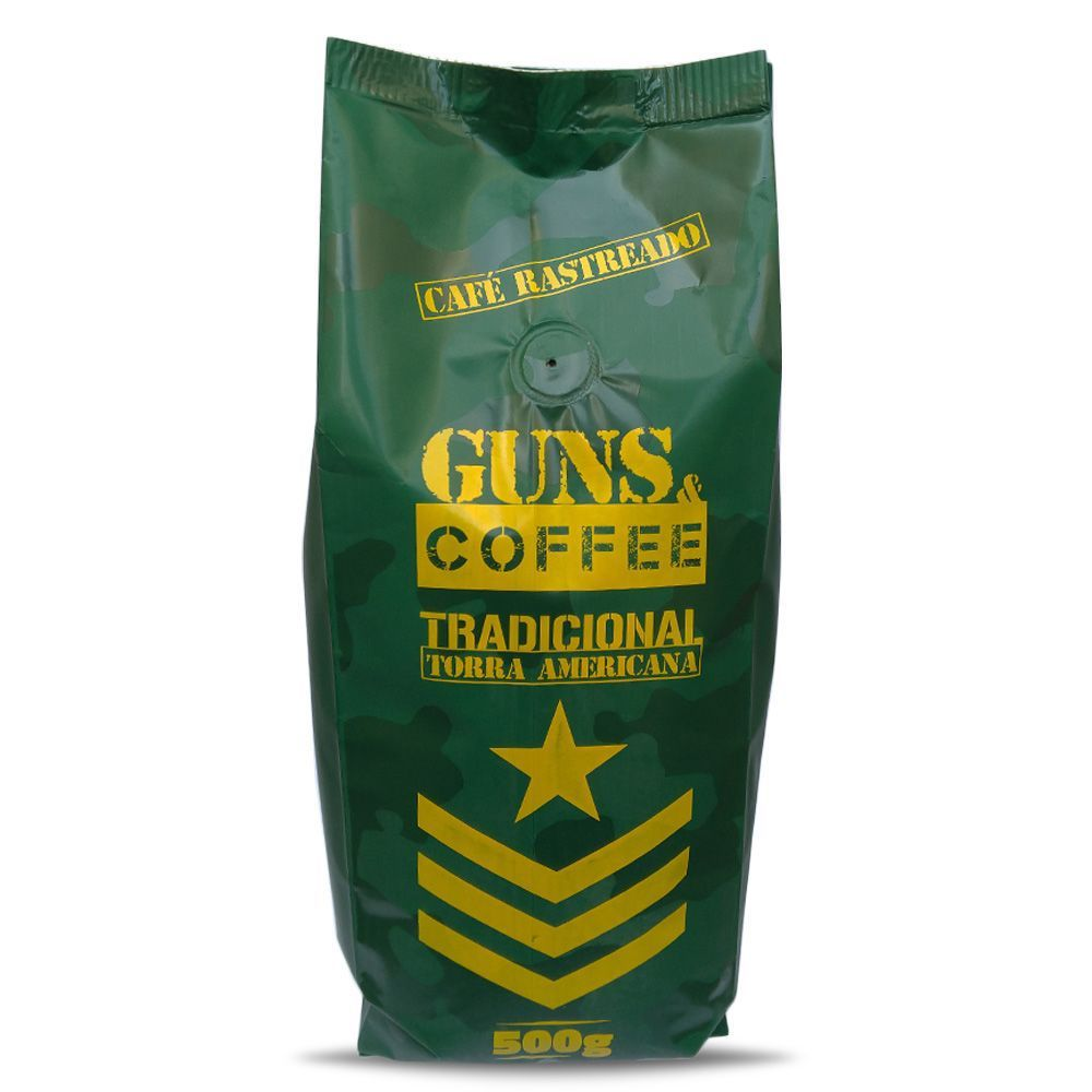 Café de Elite Guns e Coffee em Pó 500g