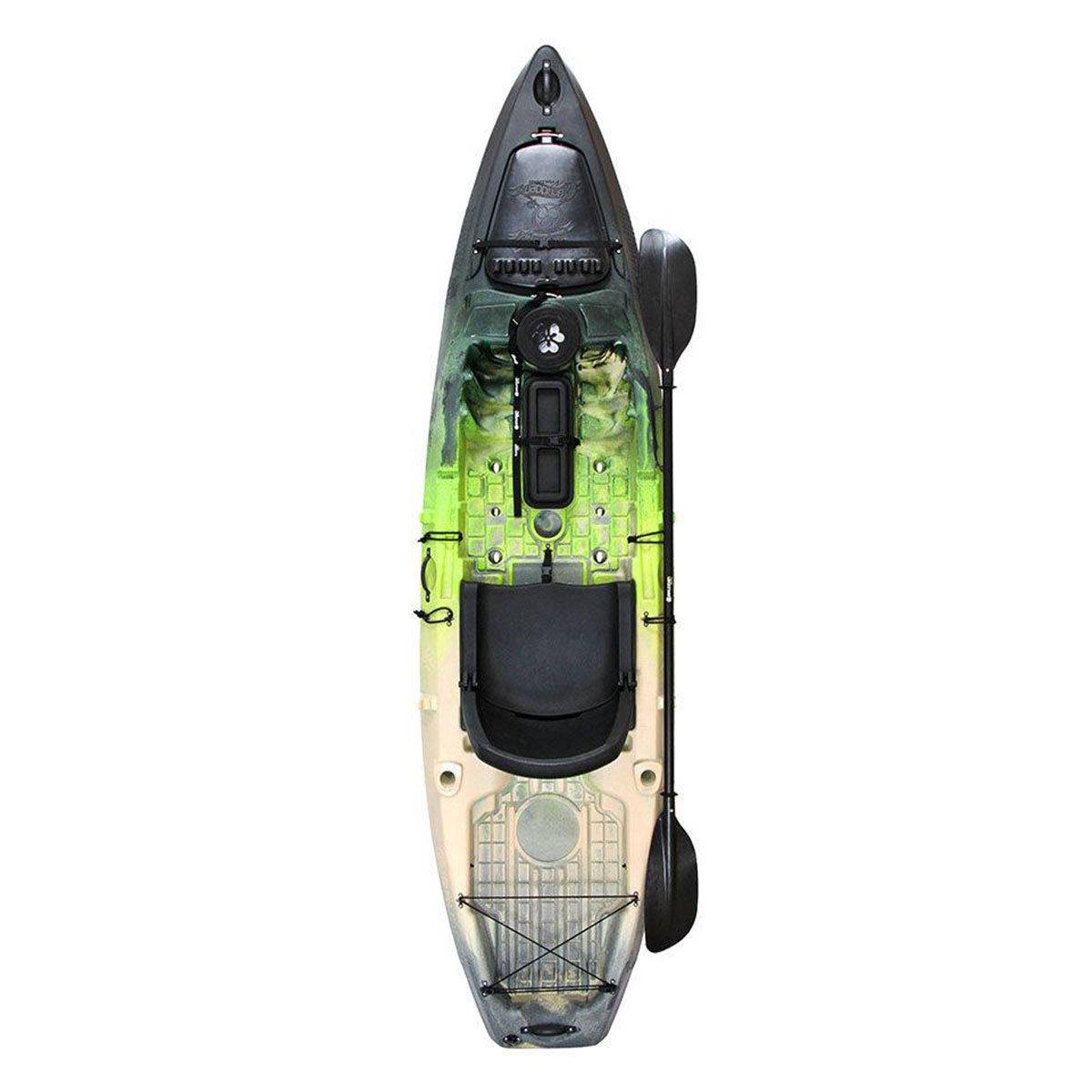 Caiaque Brudden Nautica Samurai Fishing Pro Verde/Bege/Preto