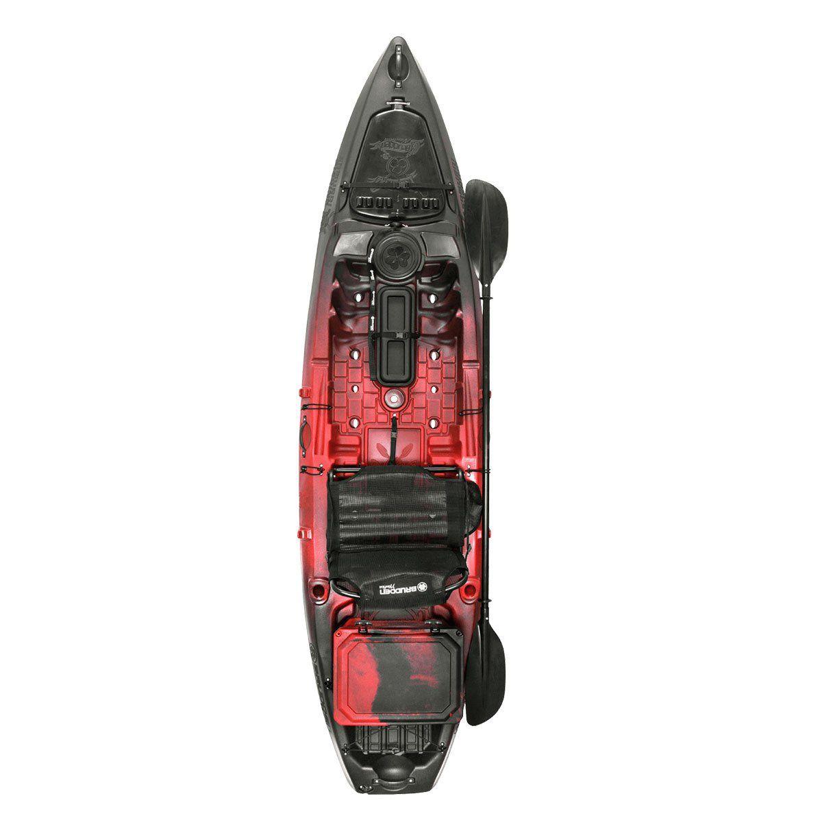 Caiaque Brudden Samurai FishingPro Vermelho/Preto Cooler 30L