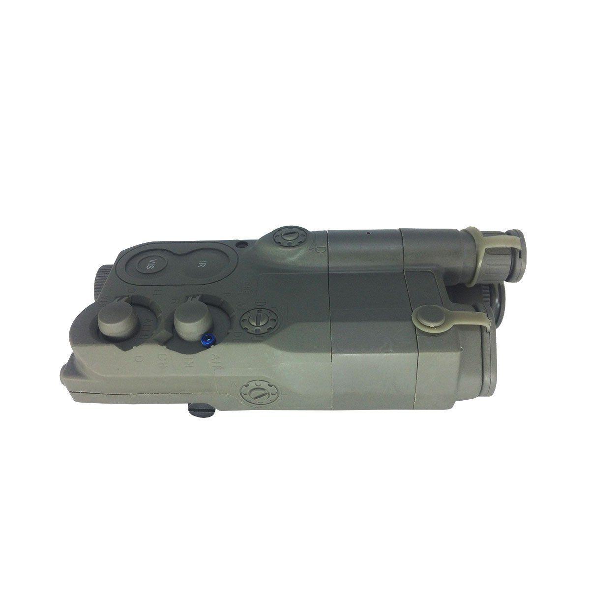 Caixa Para Bateria FMA AN/PEQ-16 FG Coyote