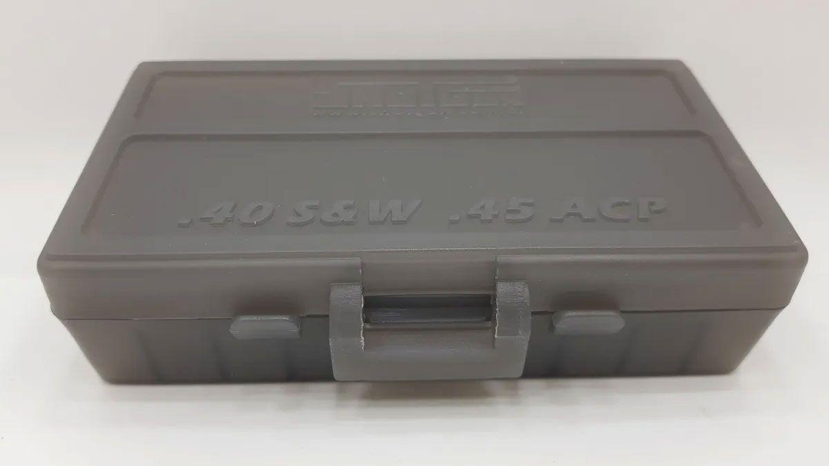 Caixa Shotgun para 50 Cartuchos Calibre 40/45 Fume