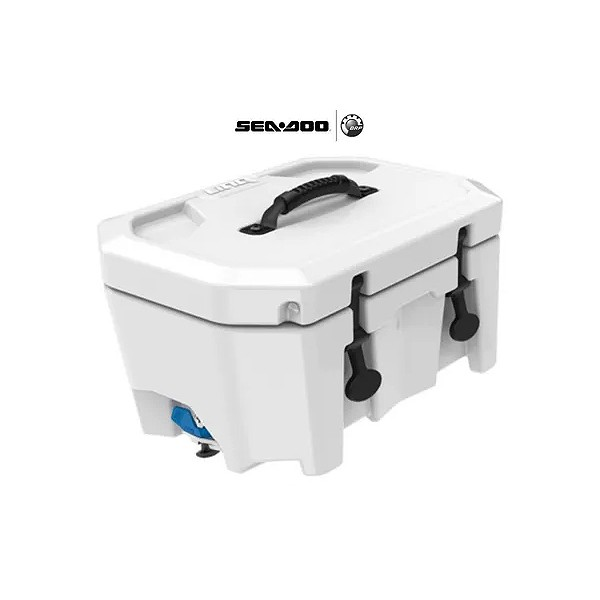 Caixa Térmica Branca BRP para Jet Ski - 16 Litros