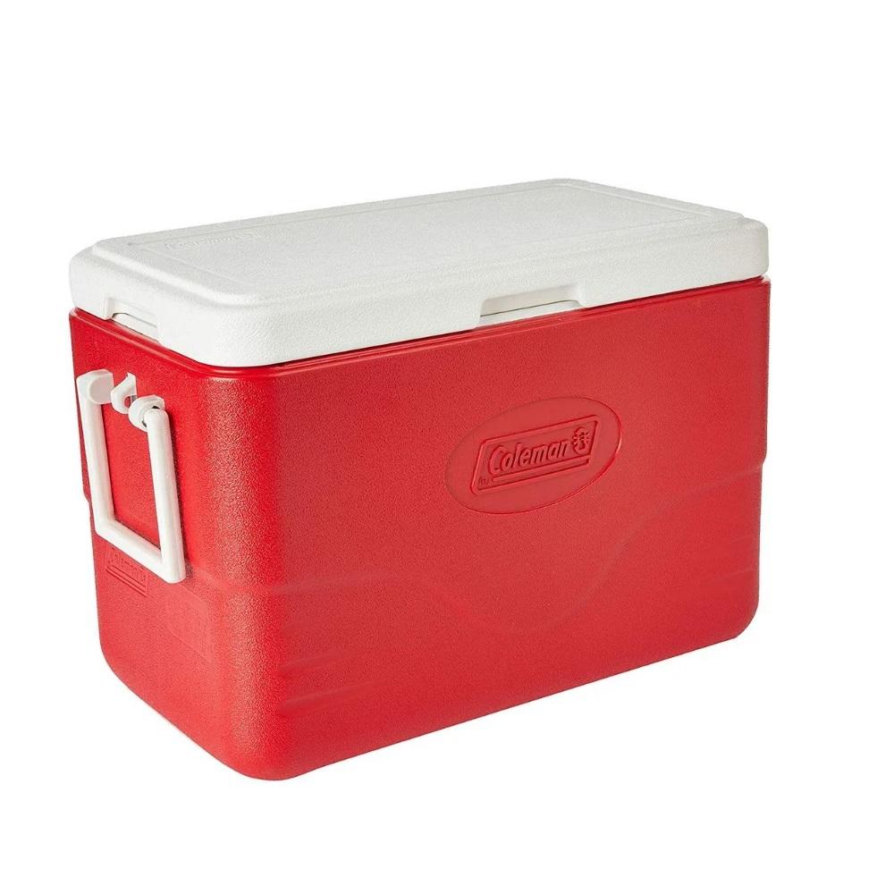 Caixa Térmica Coleman 28QT 26,5 Litros - Vermelho