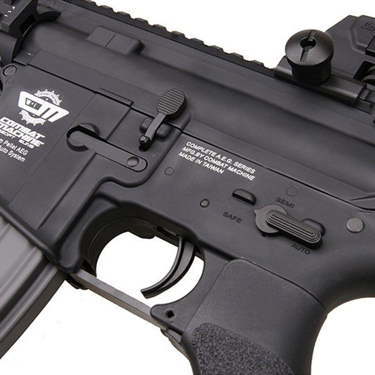 Rifle de Airsoft G&G Armament M4 CM16 Raider-L Elétrico 6mm