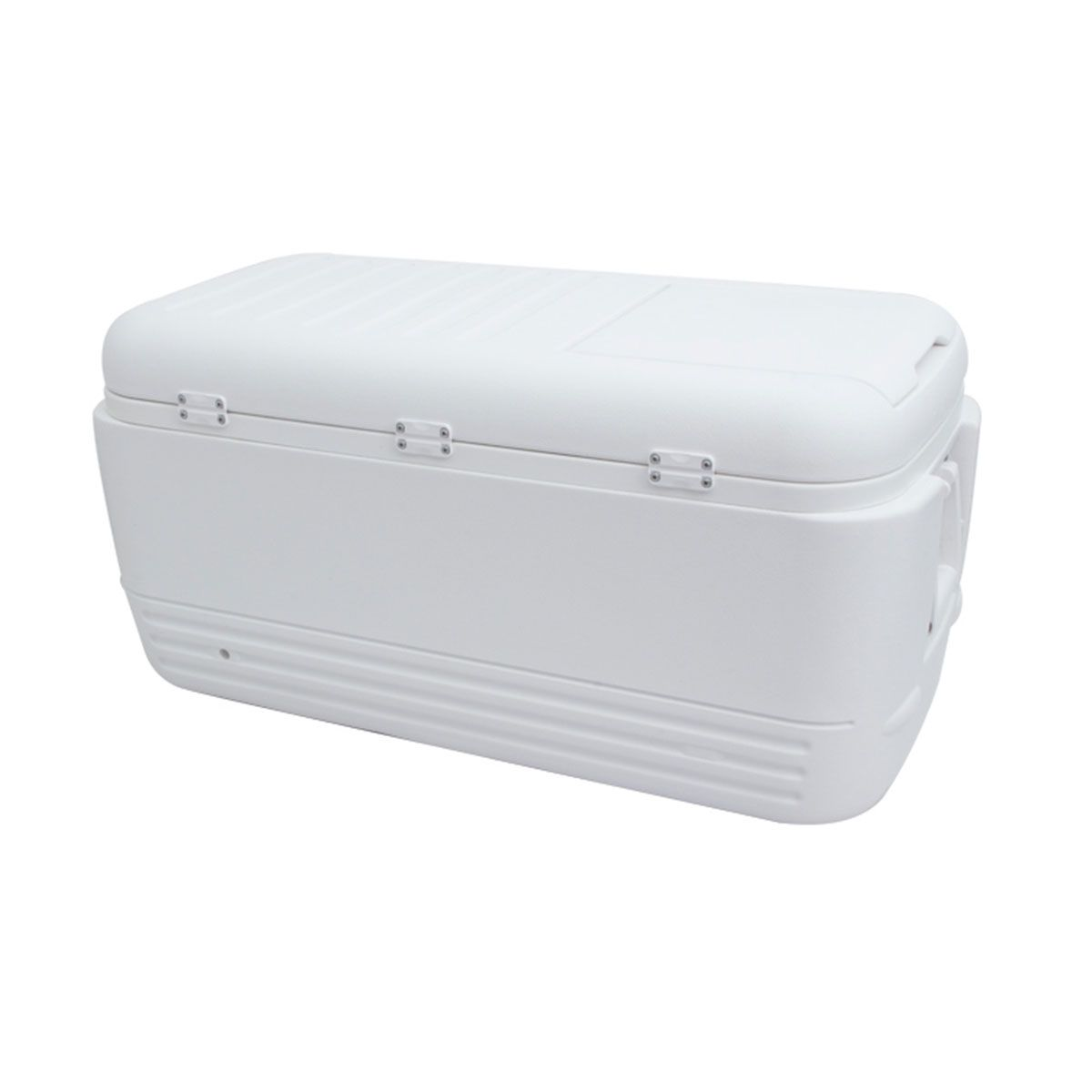 Caixa Térmica Cooler Nautika 95 L Igloo Quick 100QT Branco