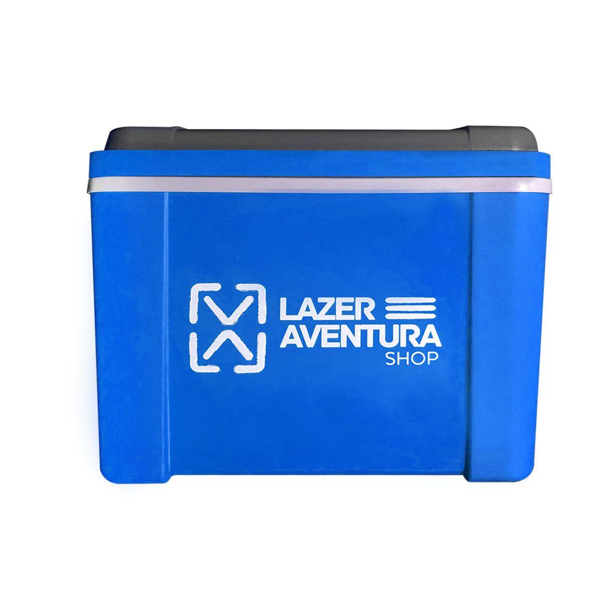 Caixa Térmica Lazer e Aventura Azul