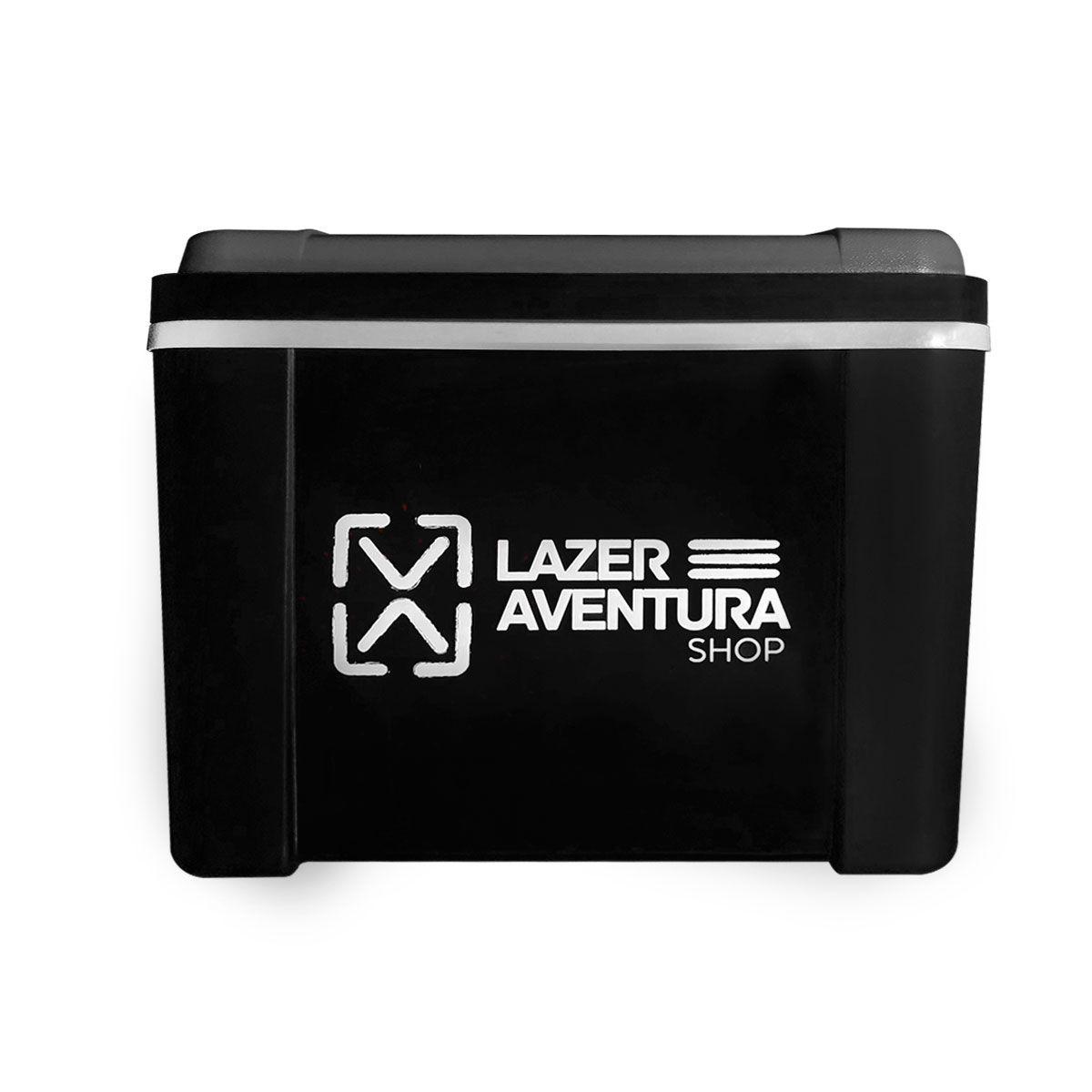Caixa Térmica Lazer e Aventura Preto