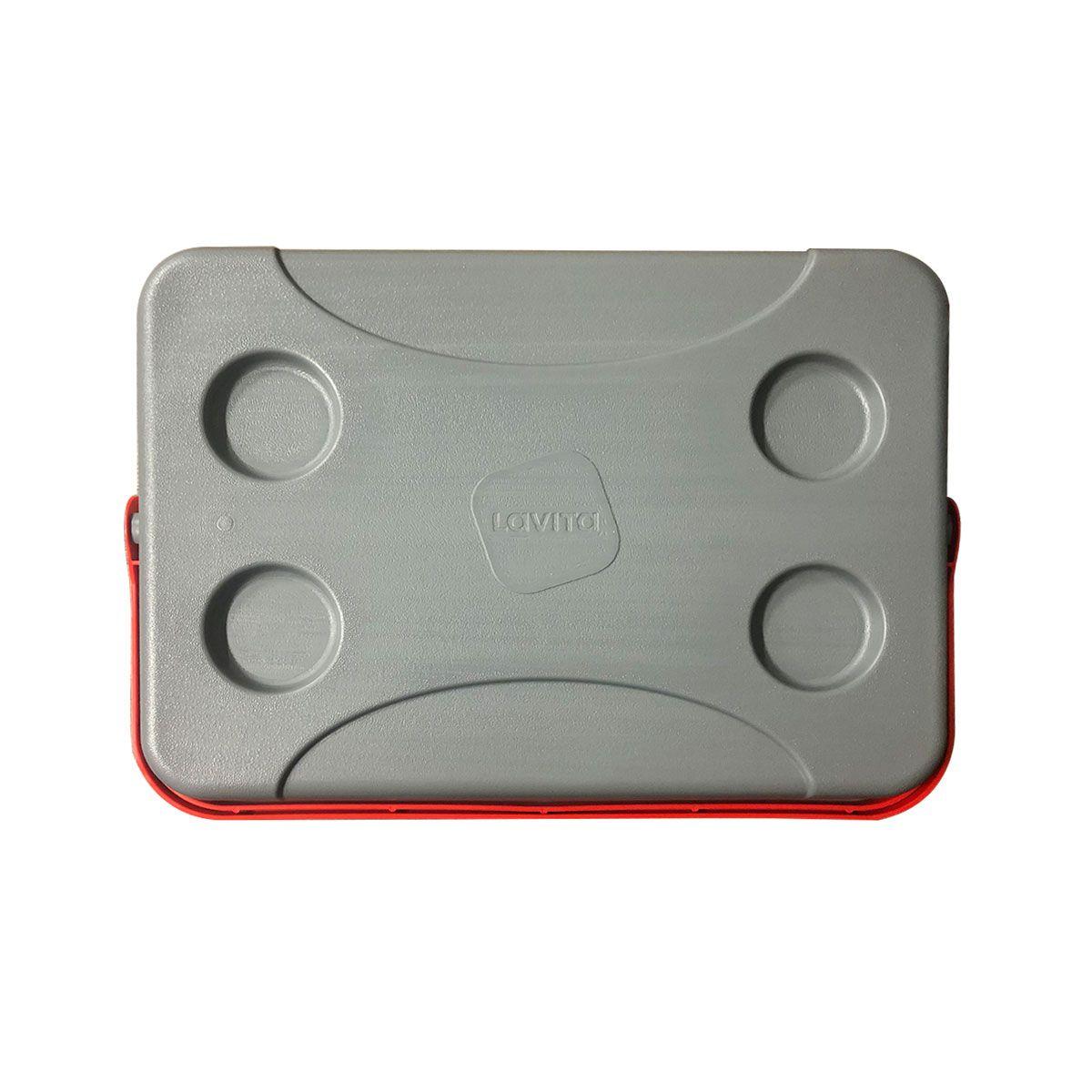 Caixa Térmica Lazer e Aventura Vermelha