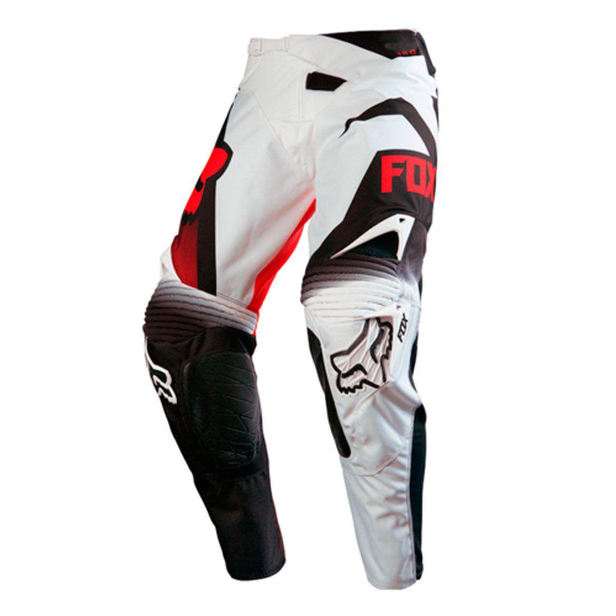 Calca de Motocross Fox 360 SHIV Black / White