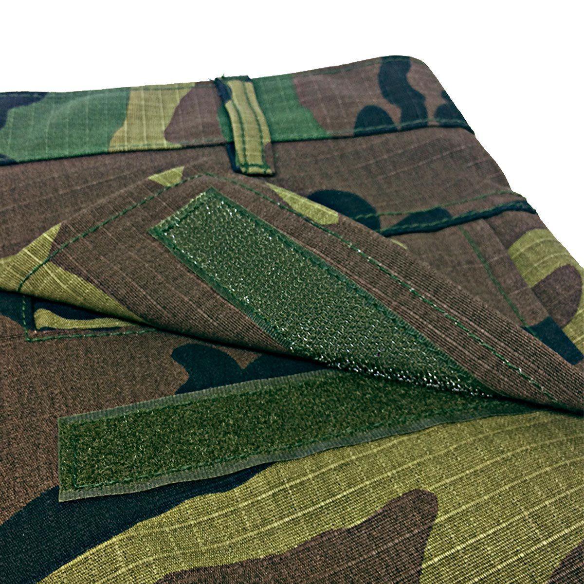 Calça Tática Camuflada Woodland Elite Comandos
