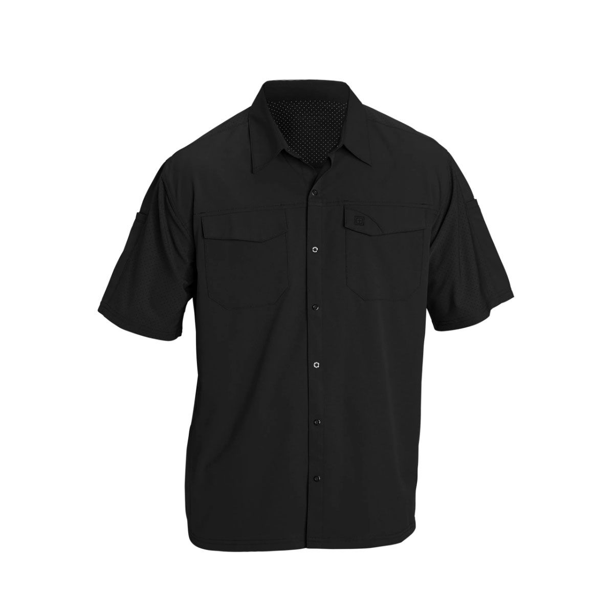 Camisa 5.11 Tactical Masc Manga Curta Freedom Flex Black