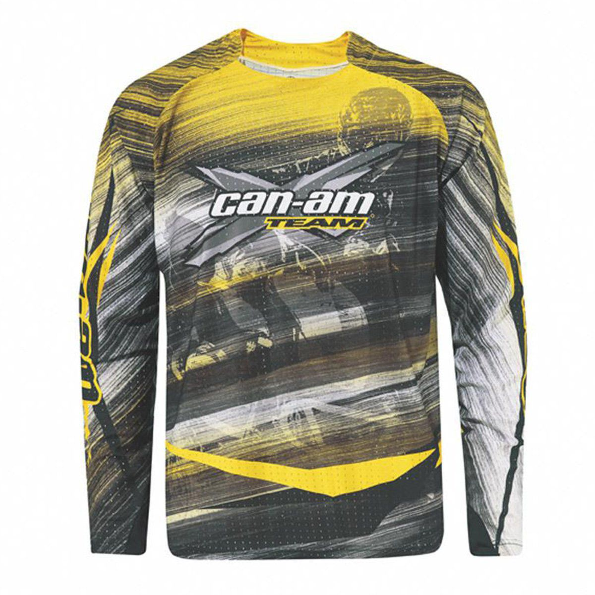 Camisa Can-Am Masculina Team Amarela