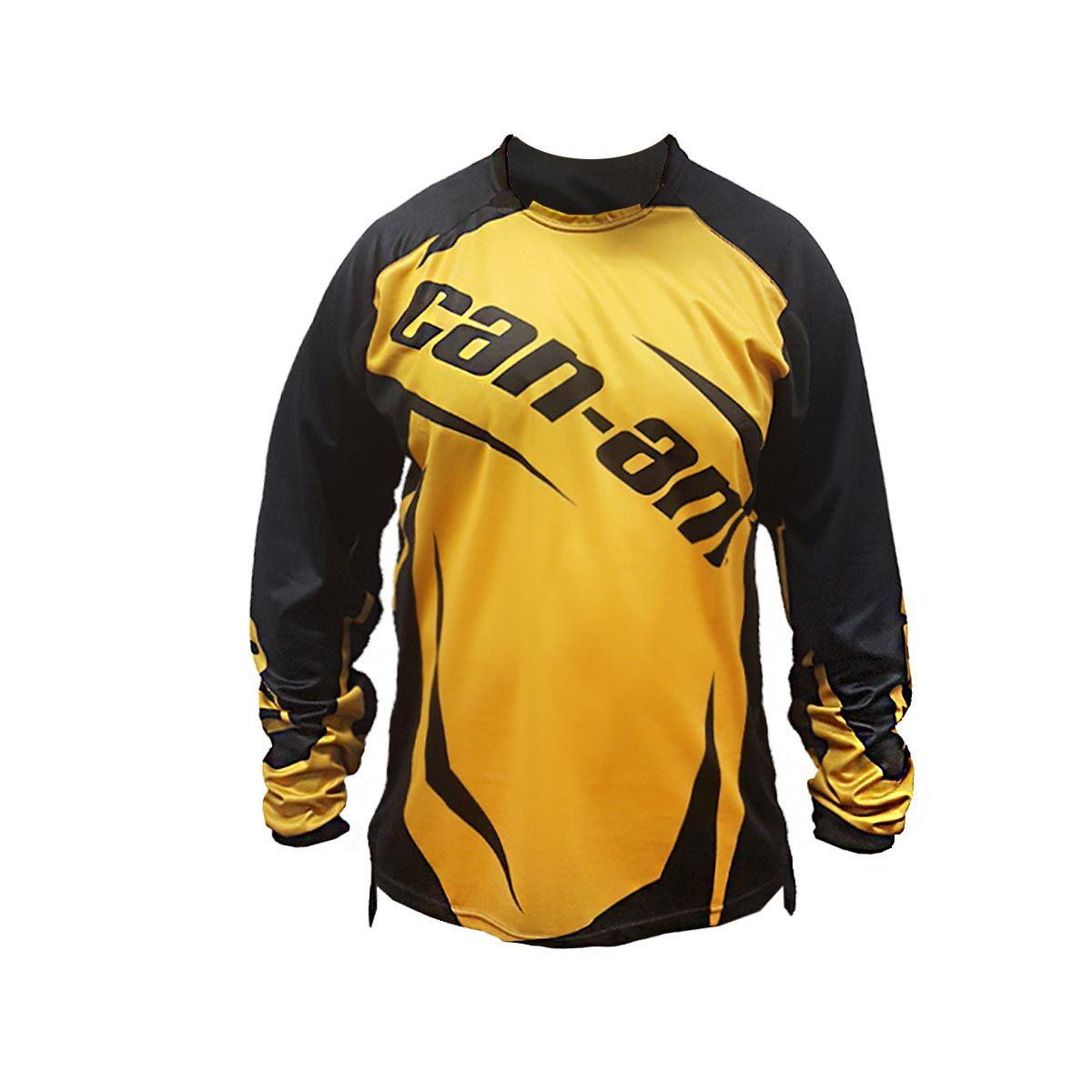 Camisa Can-Am Team Masculina Amarela