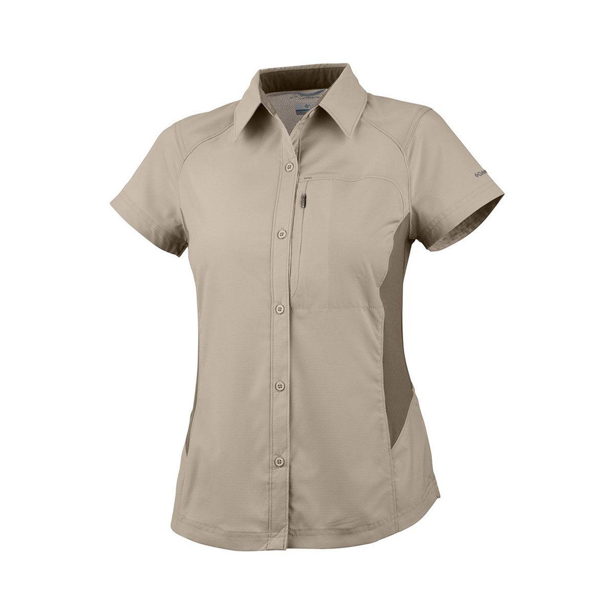 Camisa Columbia M/C Silver Ridge Fossil