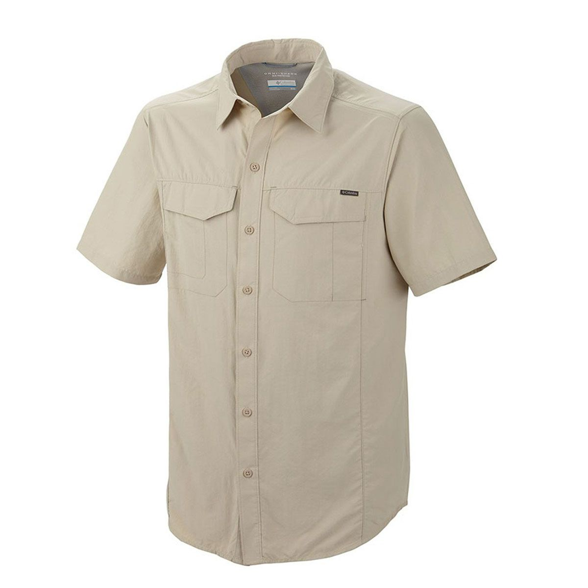 Camisa Columbia M/C Silver Ridge Sleeve Shirt Fossil