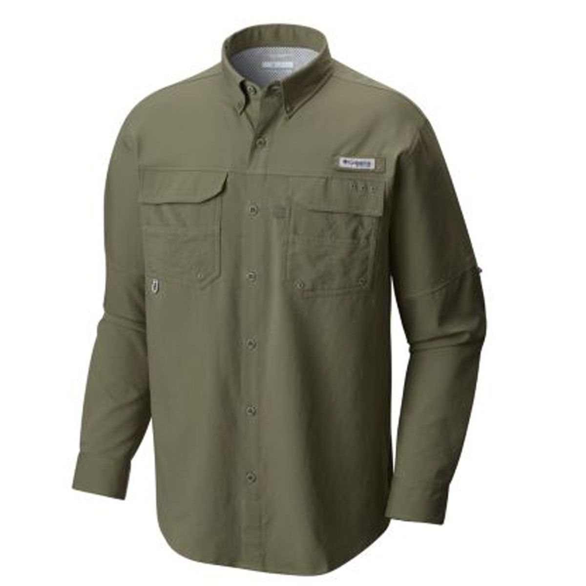 Camisa Columbia M/L Blood And Guts III LS Woven Cypress