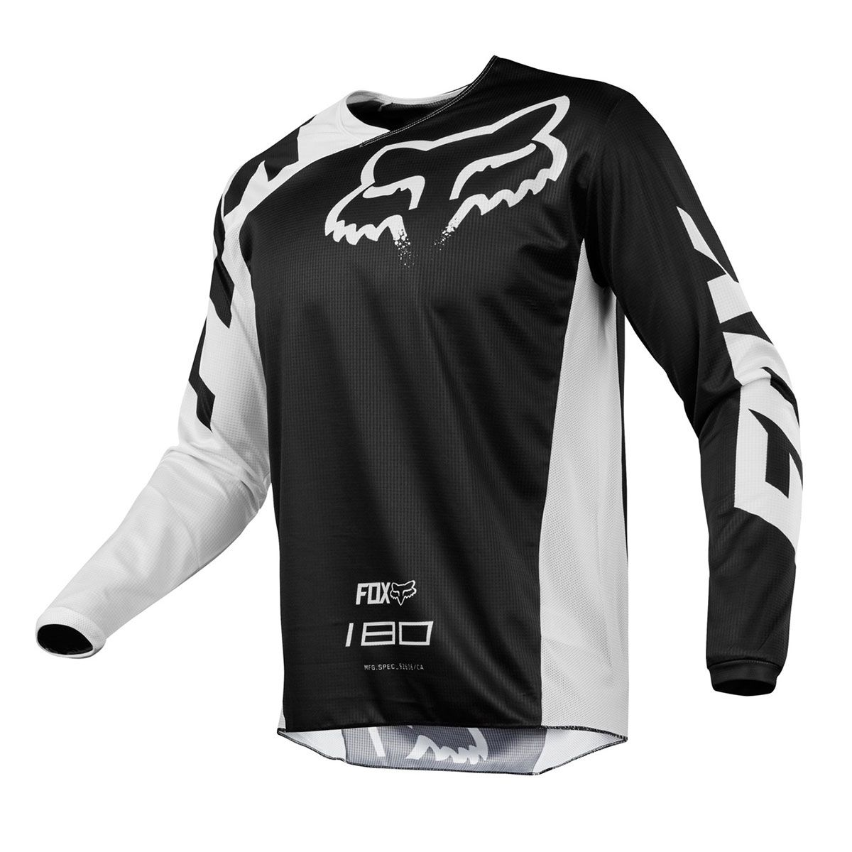 Camisa de Motocross Fox 180 Race 18 Black