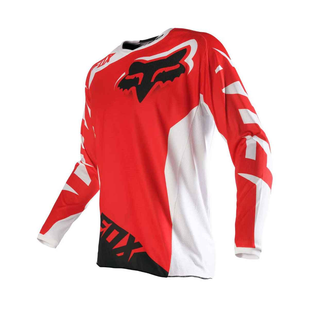 Camisa de Motocross Fox 180 Race Red
