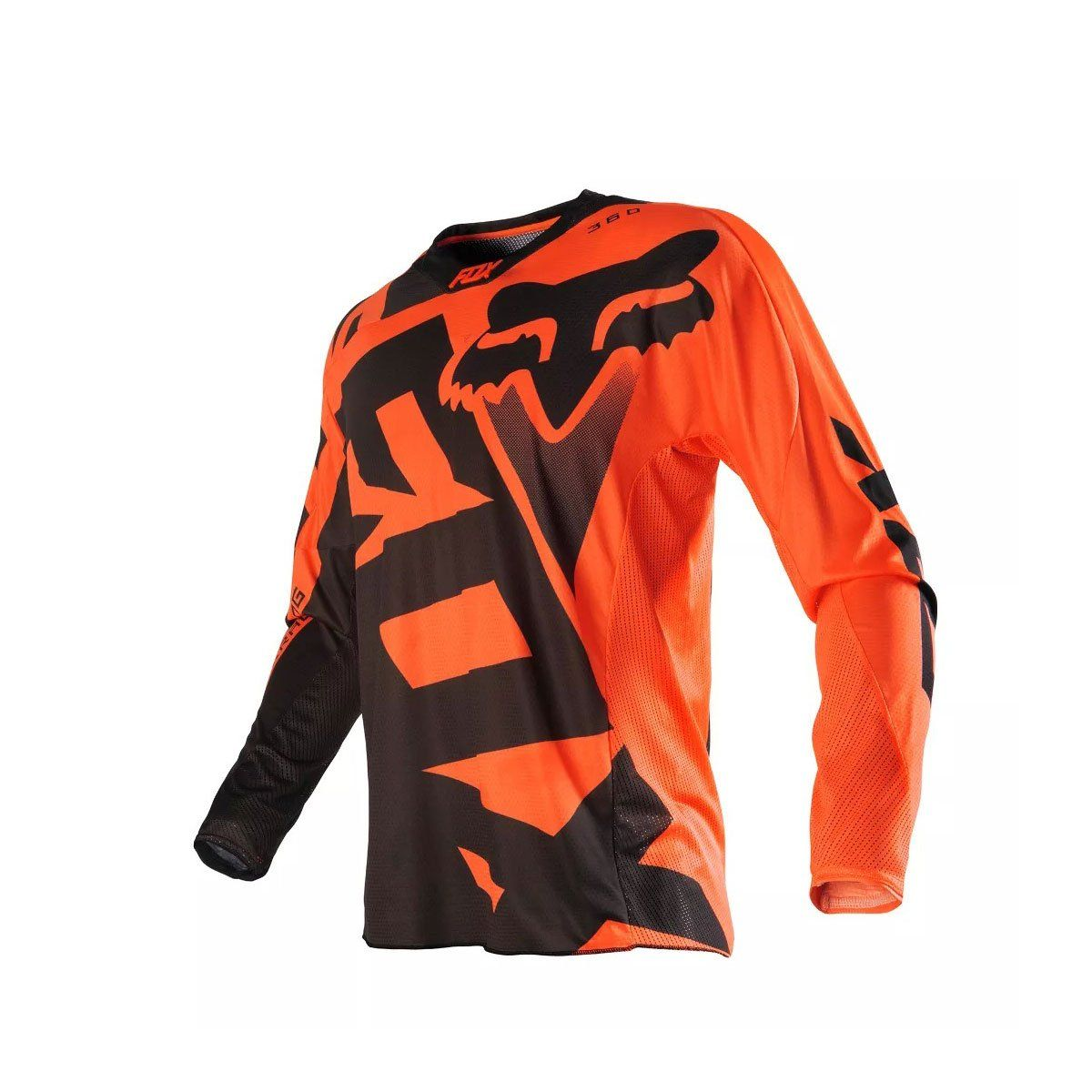 Camisa de Motocross Fox MX 360 Shiv 16 Orange