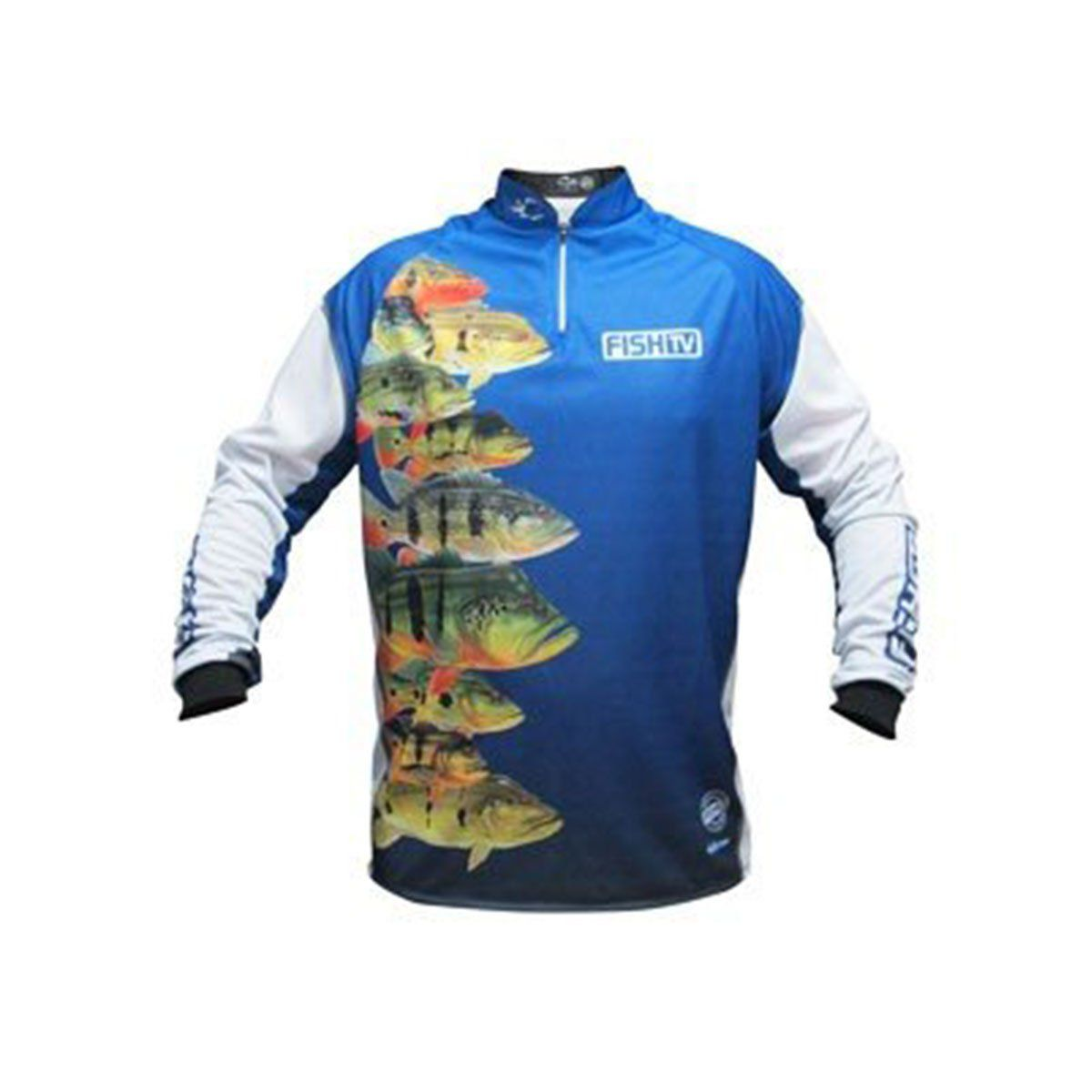 Camisa Faca na Rede Fish TV Tucunare Prot UV FPS 50 LC03