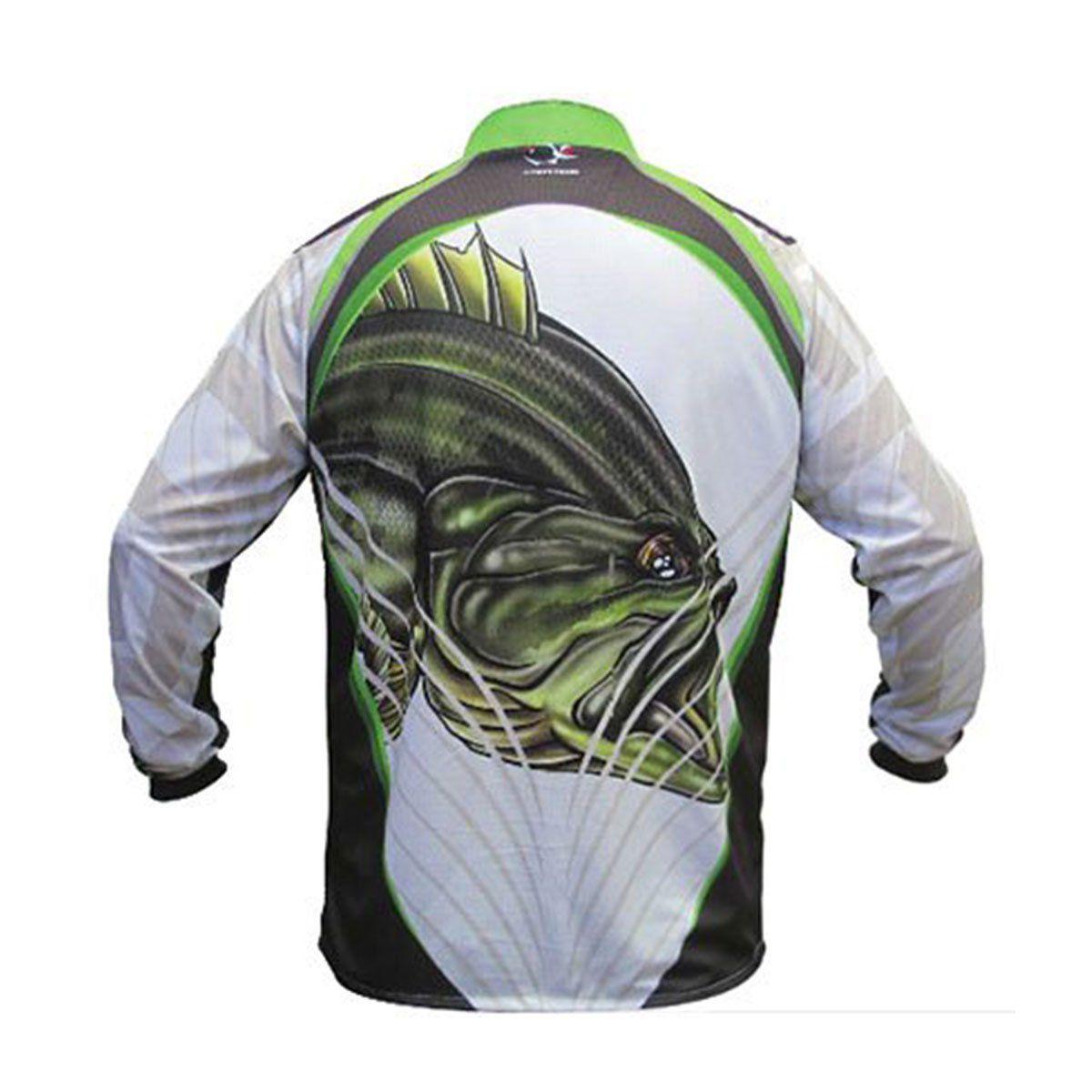 Camisa Faca na Rede NC 14 - Black Bass