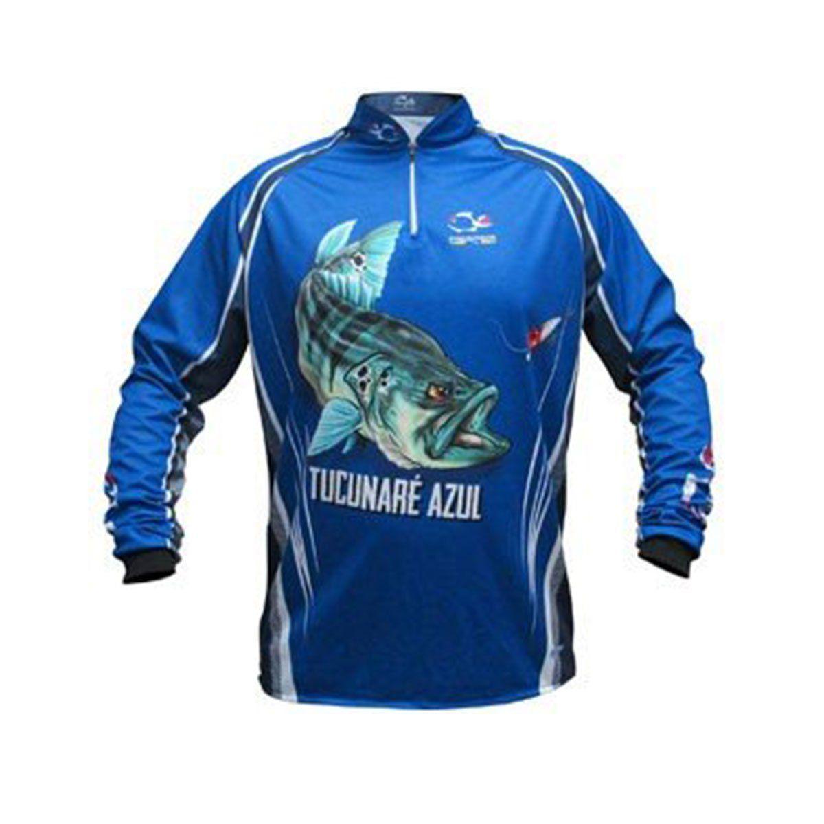 Camisa Faca na Rede Tucunare Azul NC 21