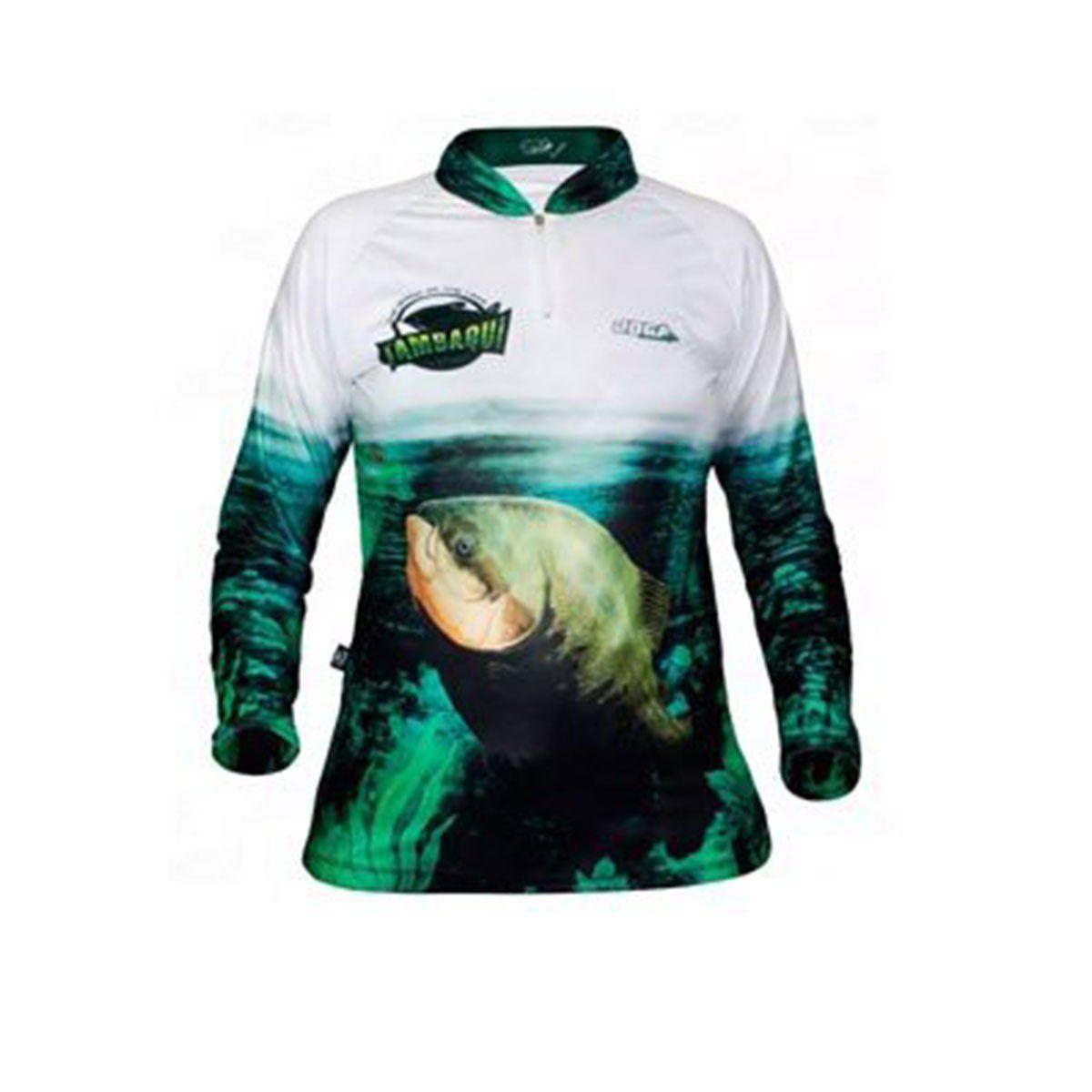 Camisa Joga Feminina Esportiva UVM 50 Tambaqui