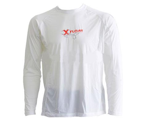Camisa Lycra Masculina UV50 Slim Fit Branca