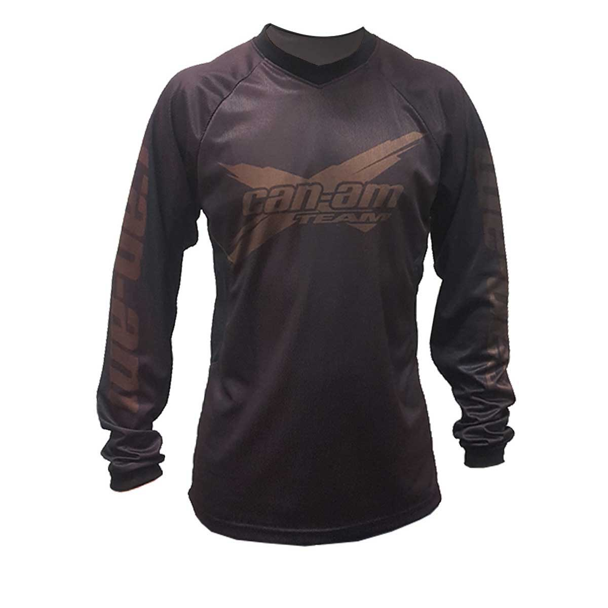 Camisa Masculina Can-Am Team Preto Fosco