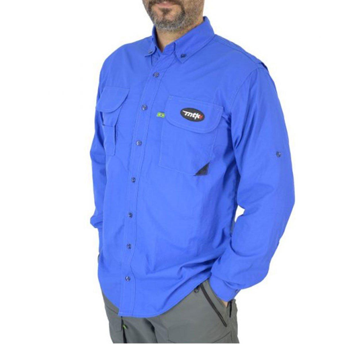 Camisa Mtk Sky Azul Royal