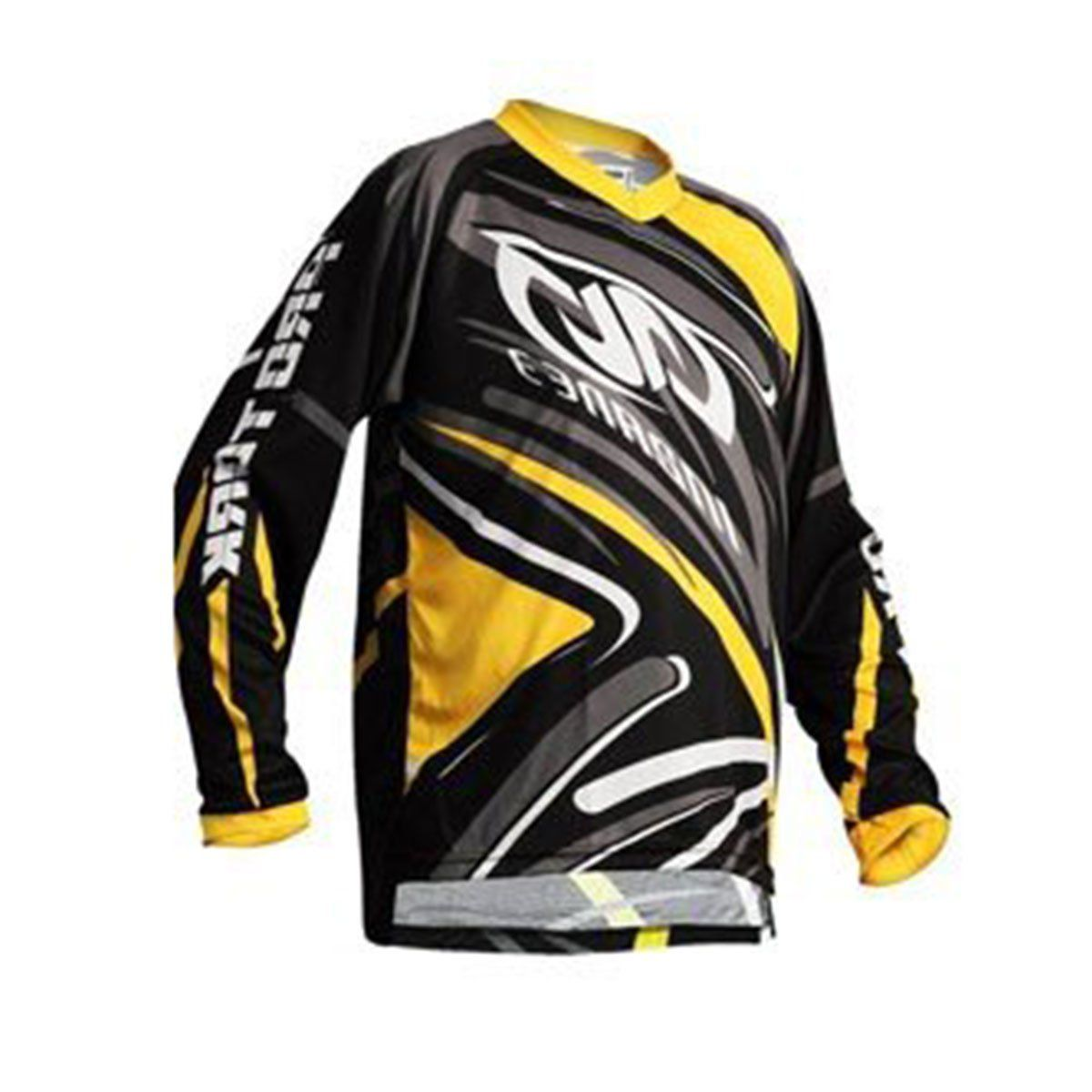 Camisa Protork Modelo Insane 3 Black / Yellow